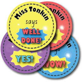 Personalised Teacher Stickers