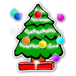 Magnetic Christmas Tree