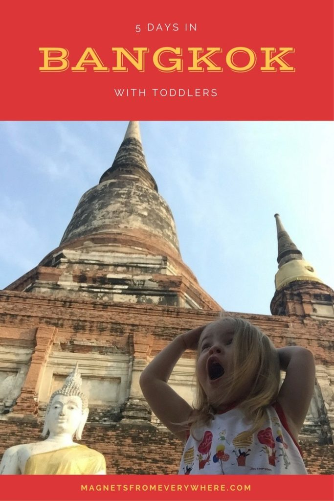 5 Days in Bangkok with Toddlers