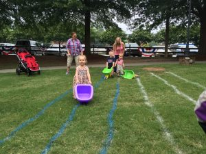 4th of July Wheelbarrow Race