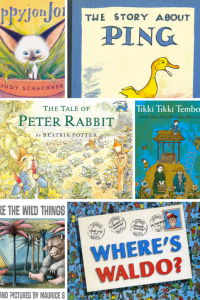 2-5 Year Old Books to Inspire Wanderlust