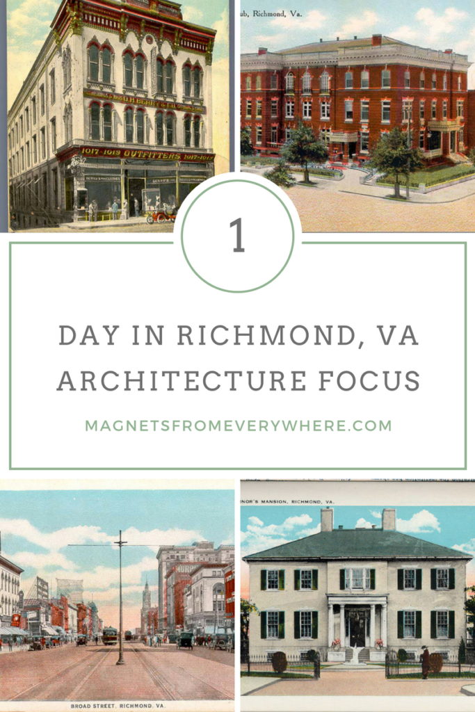 1 Day in Richmond VA with an Architecture Focus