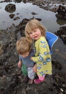 Kids and tidepools