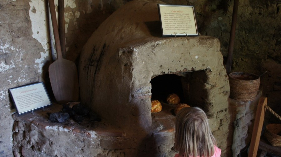 Mission San Miguel Oven