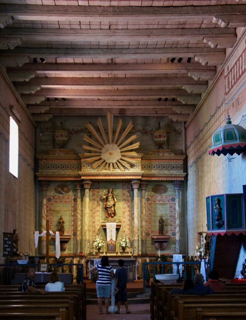 The Chapel at Mission San Miguel