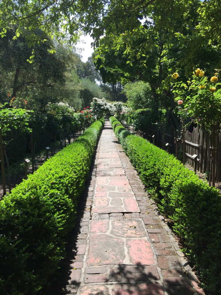 Path at the Allied Arts Guild