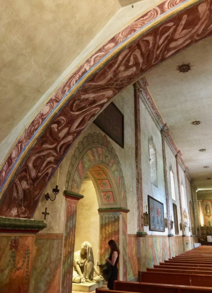 Mission Santa Barbara Chapel Arch