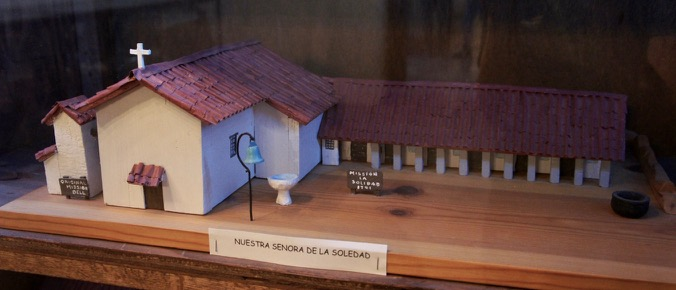 Model of Soledad Mission