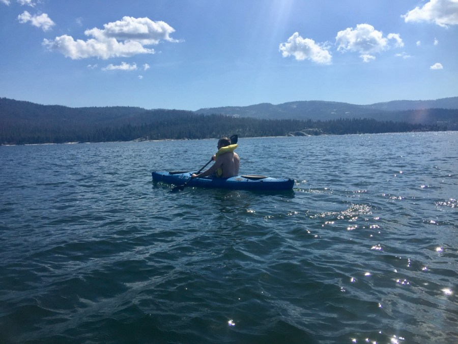 Kayaking Shaver Lake