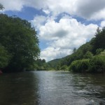 Tubing in Boone, NC with Wahoo Adventures