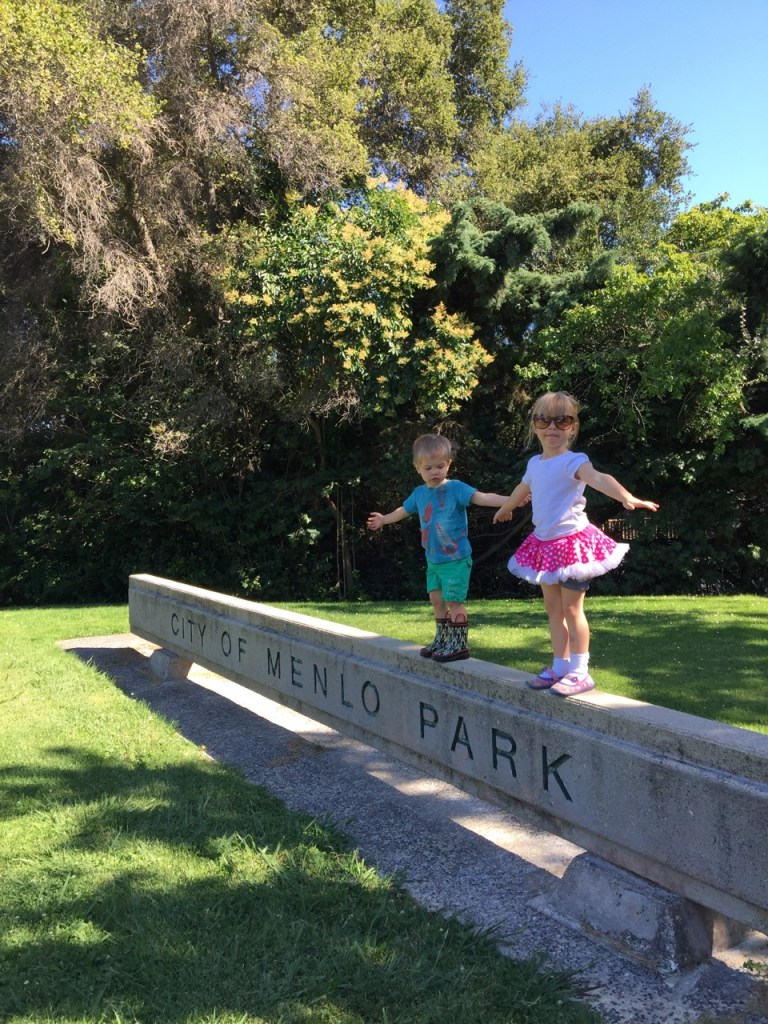 Kids in Menlo Park