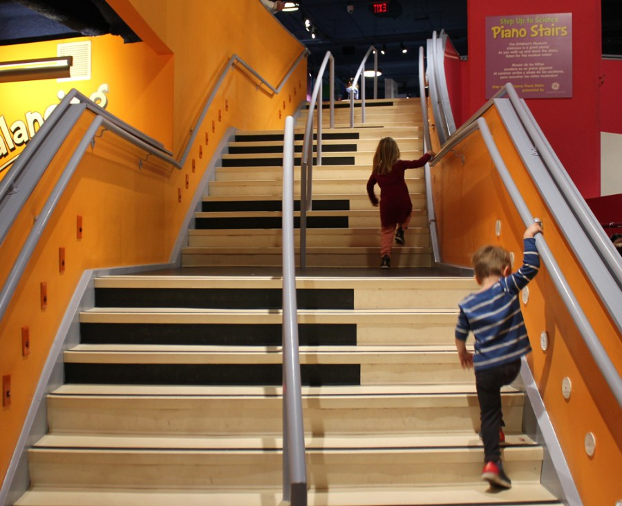 Piano Stairs at the Children's Museum of Atlanta