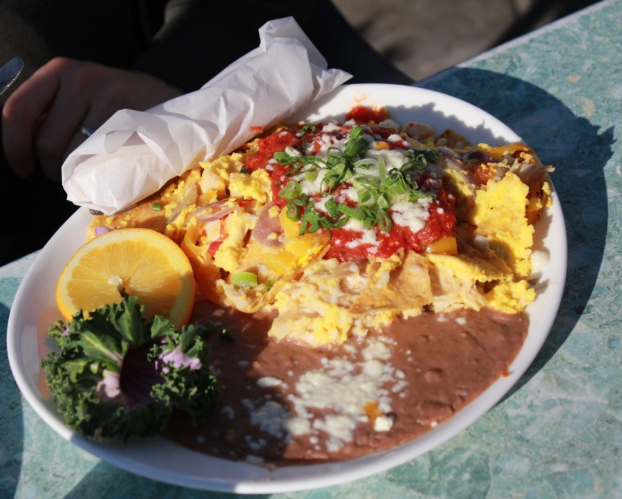 Machaca at Custom House in Avila Beach