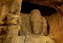 The Shiva Sculpture At Elephanta Island