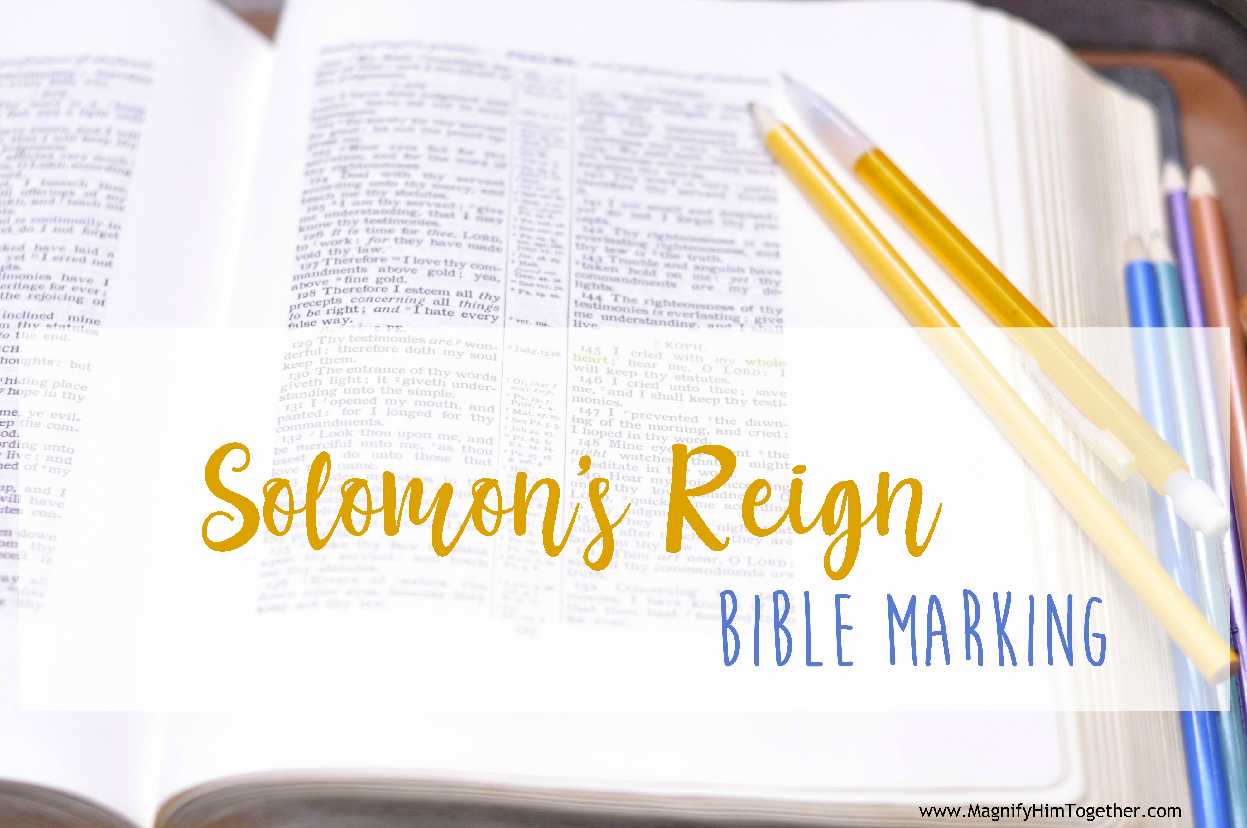 Magnify Him Together – Bible Resources