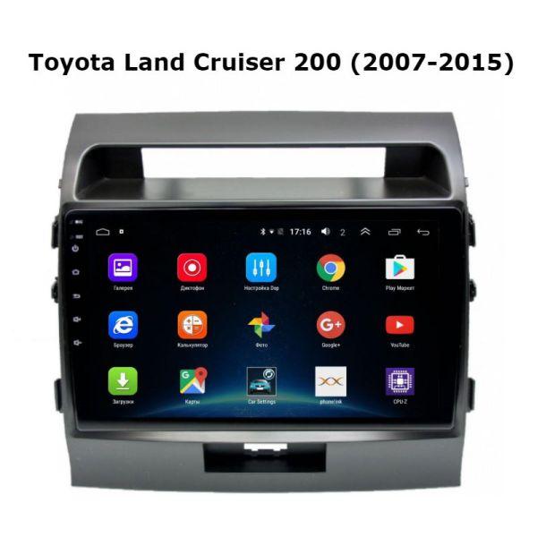 Андроид Toyota Land Cruiser 200