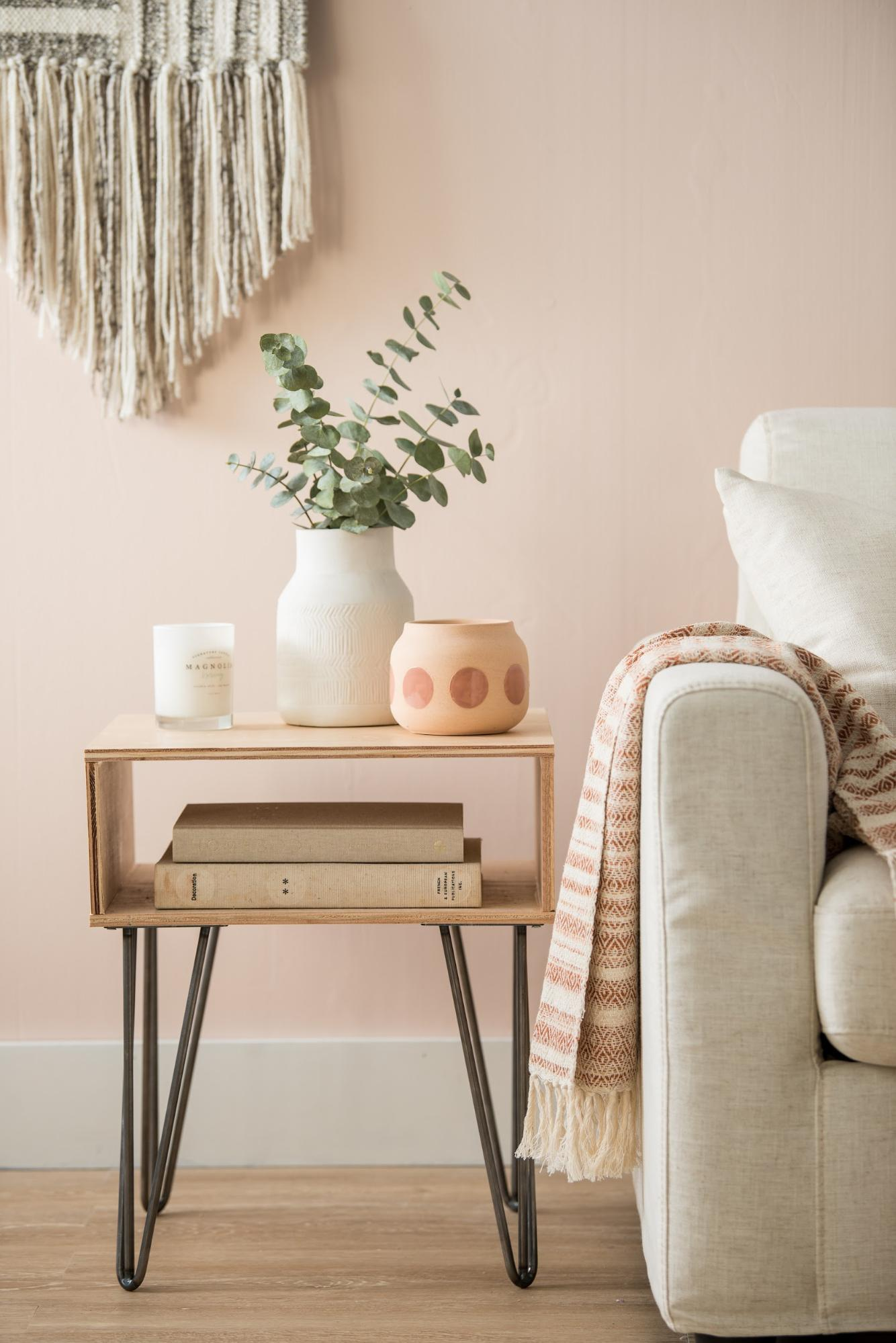 How To Build And Style A Side Table Magnolia
