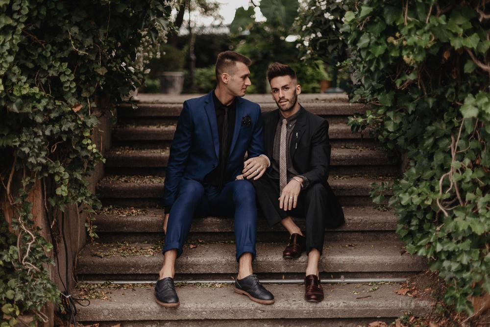 LGBTQ+ Engagement in NYC | Destination Elopement Photographer