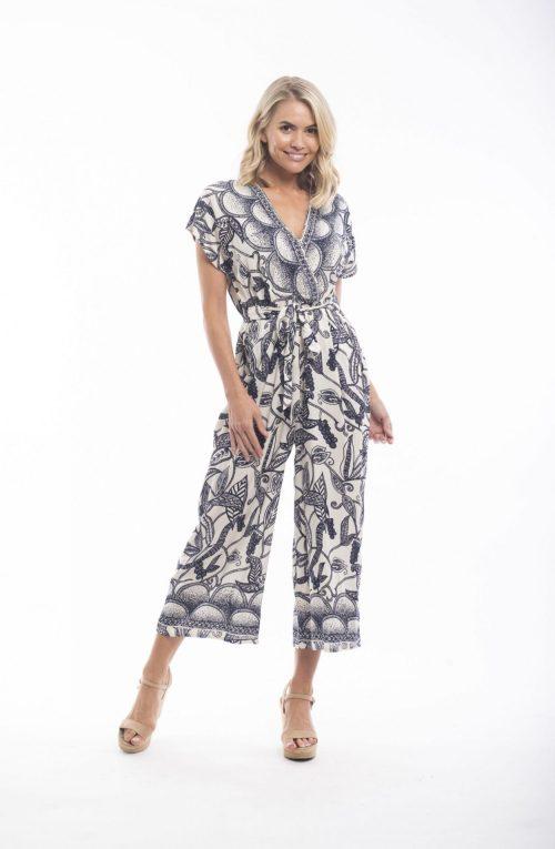 Orientique Jumpsuit Style 56023