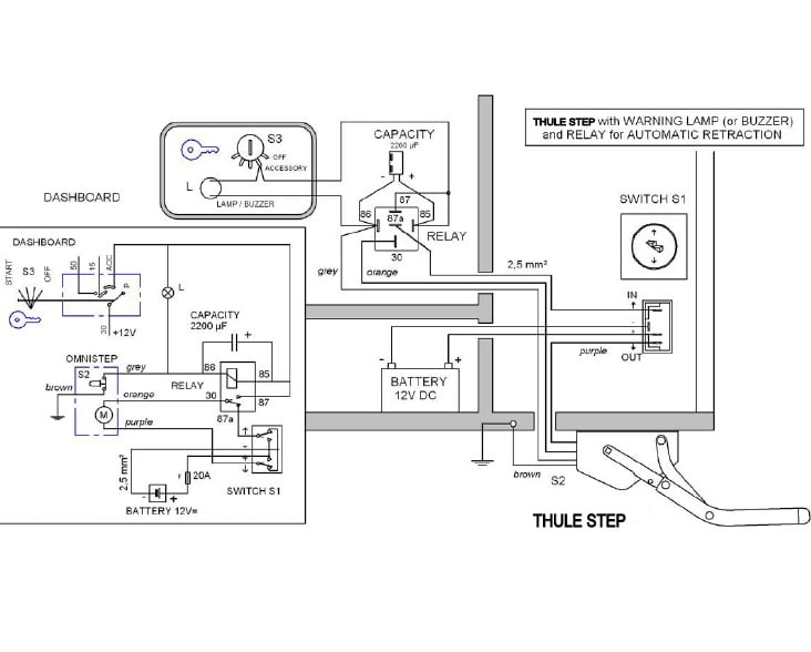 wiring diagram for omnistep