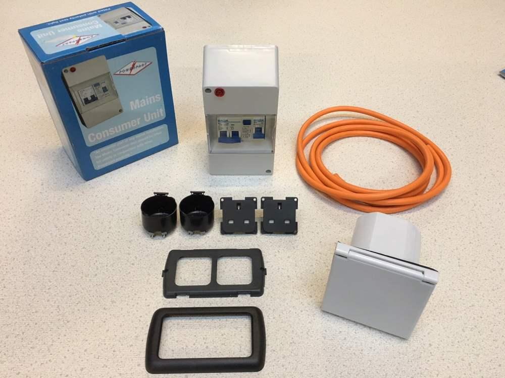 medium resolution of mains hook up electric kit