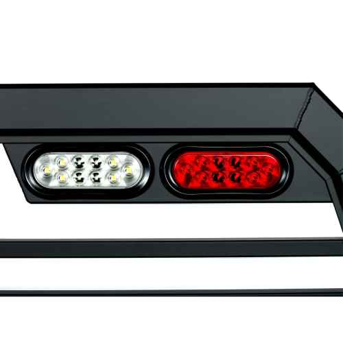 small resolution of oval shaped backup light and brake light on a truck rack