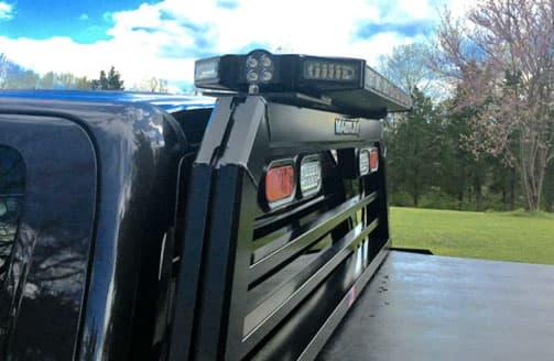 led light bars for truck racks