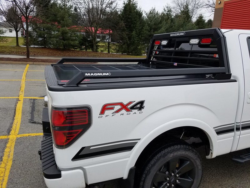 aluminum or steel truck racks