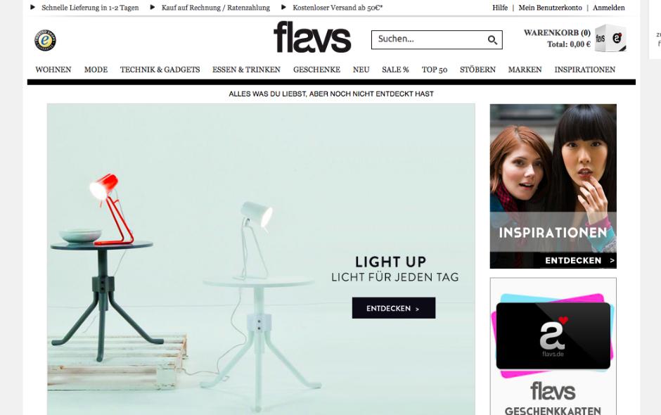 flavs online shop