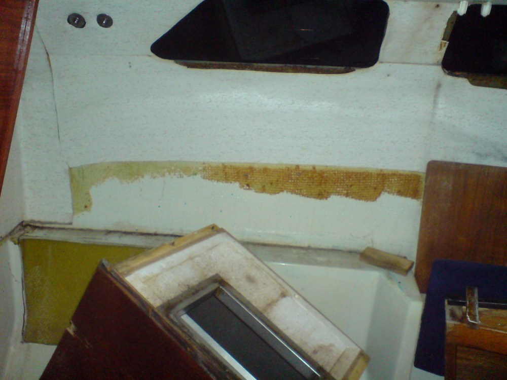 10 Rebuilding the galley (5/6)