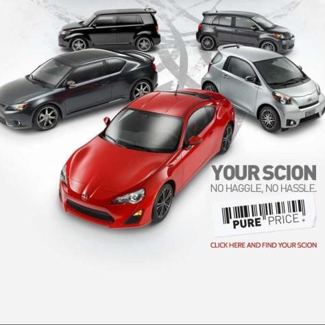 Scion Online ads