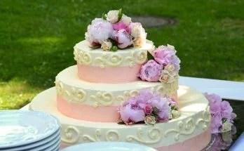 3段ウェディングケーキ