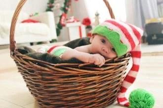 クリスマスの赤ちゃん