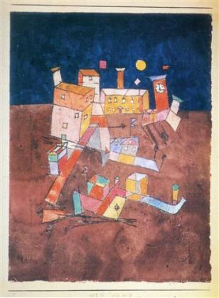 6. Paul Klee - Part of G. (1927)