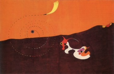 7. Joan Miro - Landskape The Hare (1927)