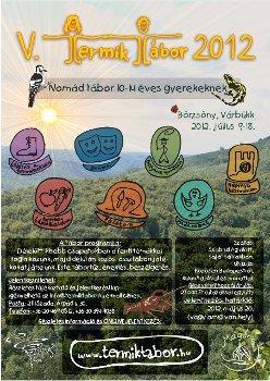 V. TERMIK Tábor 2012, színes plakát