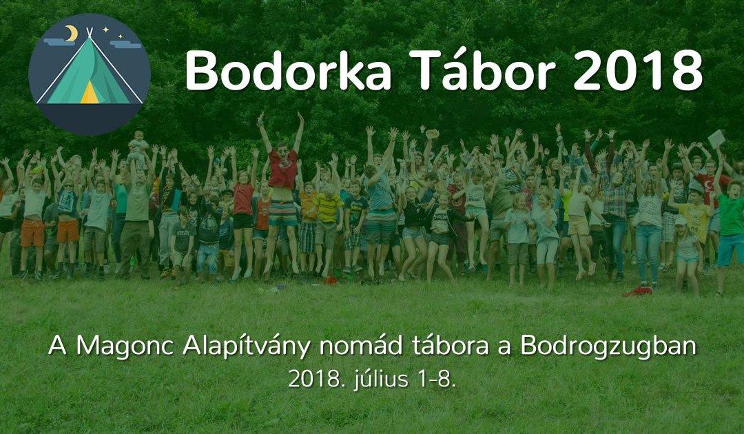 2018-as nomád táborunk a Bodrogzugban
