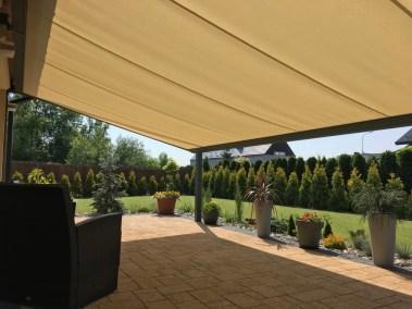 dach pergoli tarasowej