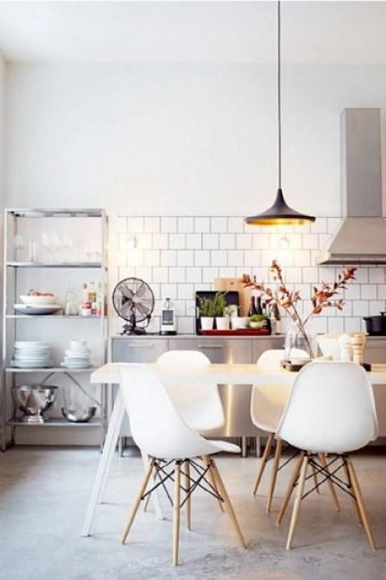 concrete kitchen dining