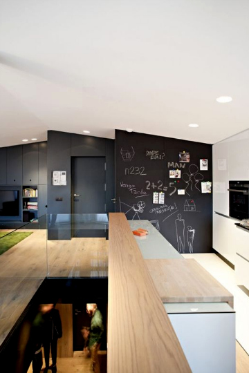 black board wall