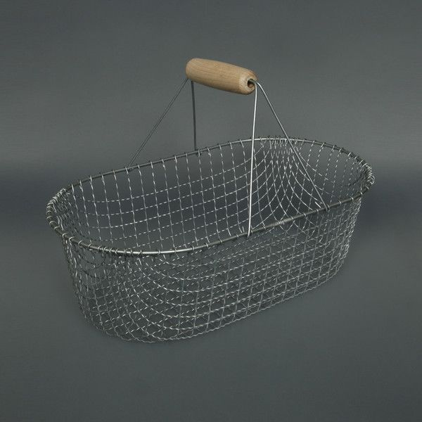 WIRE GARDEN BASKET labour & wait