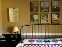 Vintage Travel-Themed Master Bedroom | Magpie, Jaybird ...