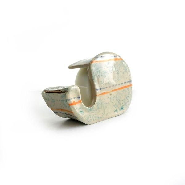 ceramic tape holder