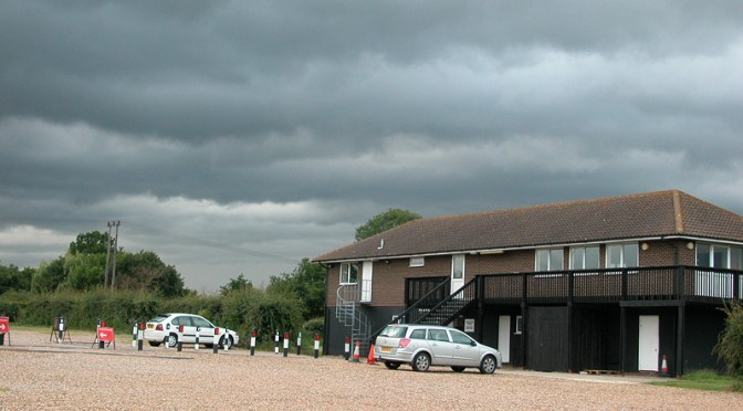 Angry Clouds over Club House, June 2007