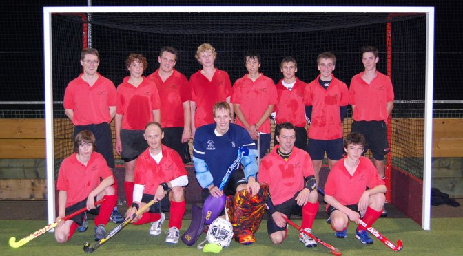 Magpies 4s, sporting away kit, after 1-1 draw with Magpies 3s – photo