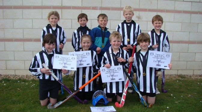 Under 9s Win Tournament