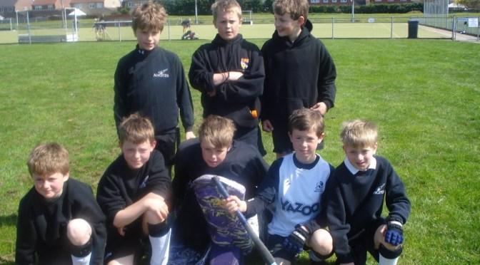 Under 11 Boys at Dereham Tournament