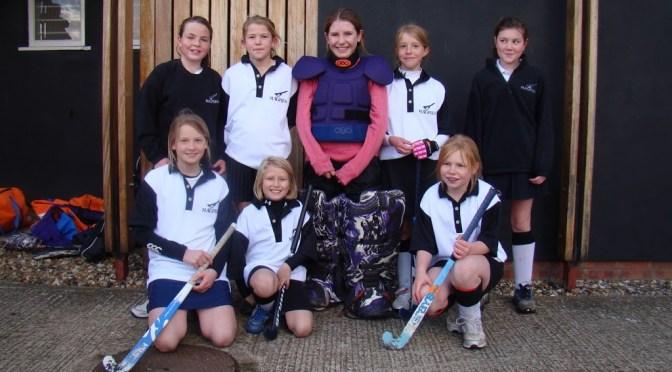 Under 12 Girls Team Photo