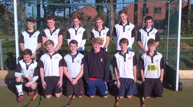 U18 Boys' team which beat Norwich City 6-1