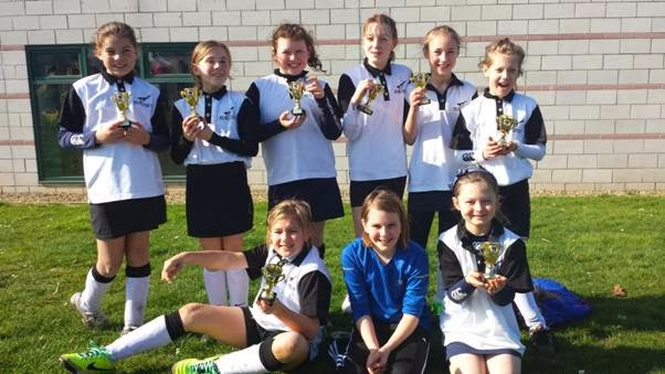 U10 Girls Norfolk County Championships Minis, Pelican, Kings Lynn, Sunday 9th March 2014 – Magpies: Champions